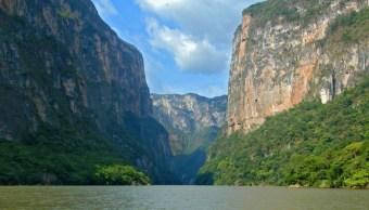 Buscan a hombre extraviado en el Cañón del Sumidero, en Chiapas