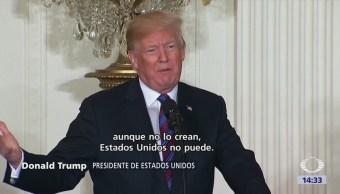 Caravana Migrantes Disuelta Trump