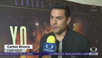 Carlos Rivera presenta su documental a selecto grupo de periodistas