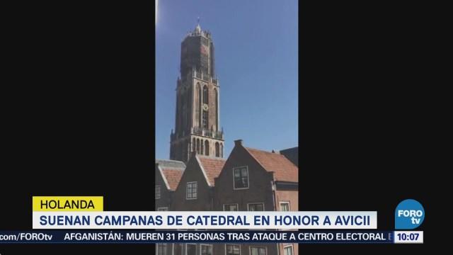 Catedral Utrecht Rinde Tributo Musical Dj Avicii