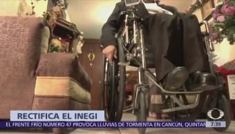 Censo del INEGI sí incluirá a personas con discapacidad