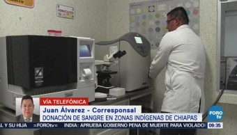 Chiapas Promueve Cultura Donación Sangre