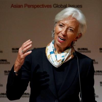 Christine Lagarde pide apartarse del proteccionismo y reforzar crecimiento a largo plazo