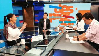 Candidatos de Morena, PRI y PRD a la CDMX en Despierta