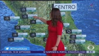 Clima Al Aire: Prevén lluvias y tormentas con granizo en Valle de México