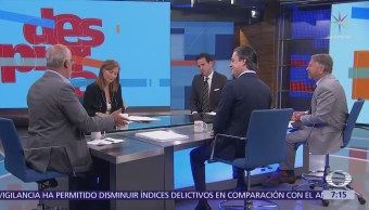 Clouthier, Castañeda, Nuño y Zavala en la mesa de Despierta con Loret