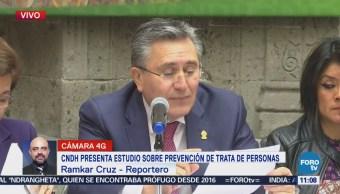 CNDH presenta estudio sobre la prevención de trata de personas