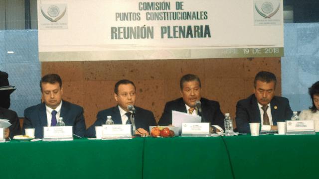 Diputados aprueban en comisiones las reformas para eliminar el fuero