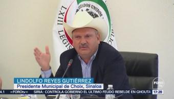 Comparece ante el Senado el alcalde de Choix por desacato a la CNDH