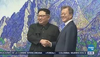 Concluye Cumbre Líderes Coreanos Corea Norte Sur