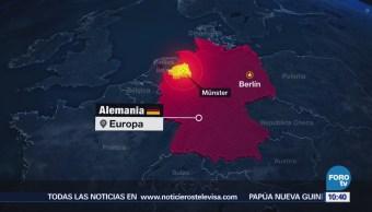 Conductor Vehículo Embistió Peatones Alemania Suicidó