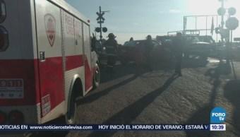 Conductor Intenta Ganarle Paso Ferrocarril Zacatecas
