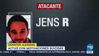 Confirman Atacante Münster Actuó Motivos Suicidas