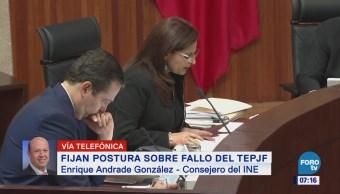 Consejero Andrade González confirma denuncia ante la Fepade contra 'El Bronco'