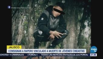 Consignan Rapero Vinculado Homicidio Estudiantes Cine Jalisco