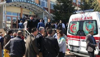 Tiroteo universidad Turquía deja cuatro muertos