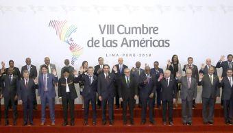 Cumbre de las Américas aprueba por aclamación compromiso contra la corrupción