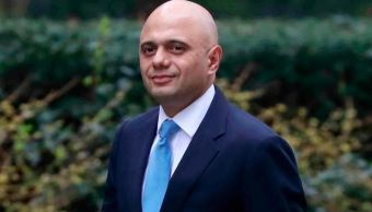 May nombra a Sajid Javid como ministro británico de Interior