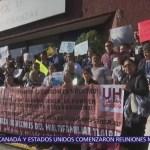 Damnificados del sismo 19S protestan frente a Secretaría de Finanzas CDMX