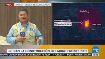 Dan Detalles Muro Construirá Santa Teresa Nuevo México