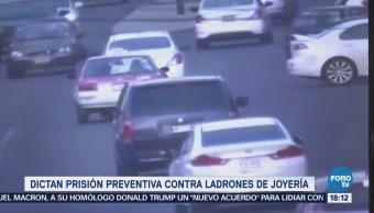 Dan Prisión Ladrones Joyería Coyoacán