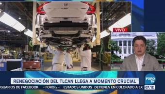 Delegaciones de México, EU y Canadá aceleran la renegociación del TLCAN