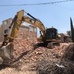 Finaliza demolición de edificio en la delegación Tlalpan
