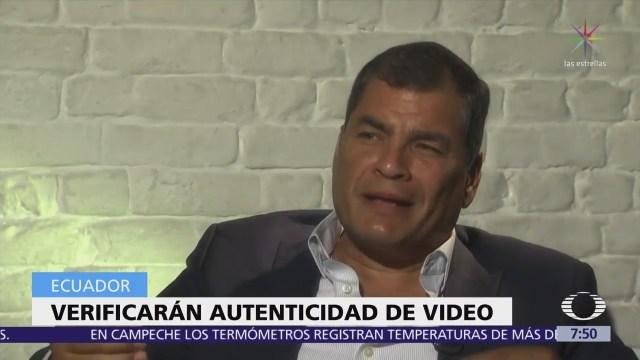 Denuncian entrega de dinero de las FARC a campañas de Rafael Correa