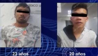 detienen hombres robar iztapalapa ssp policia