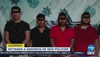 Detienen Implicados Emboscada Las mesillas Guerrero