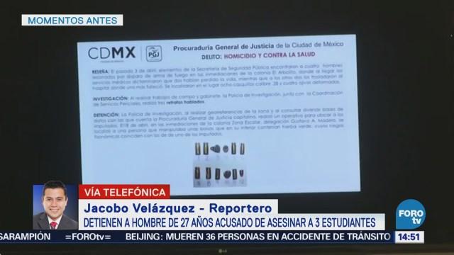 Detienen Presunto Asesino Estudiantes Uacm