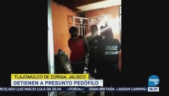 Detienen Pedófilo Tlajomulco De Zúñiga Jalisco Pornografía Infantil
