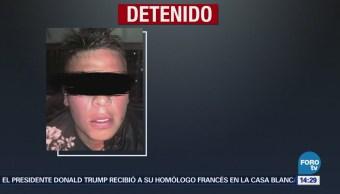 Detienen Presunto Asaltante Avenida Alta Tensión, Álvaro Obregón