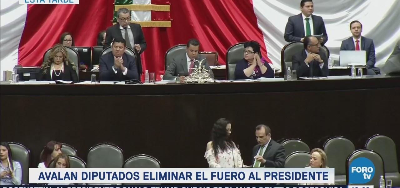 Diputados Aprueban Eliminación Fuero Incluye Presidente