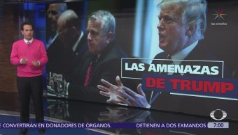 Donald Trump anuncia militarización de la frontera con México