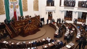 Procurador capitalino rinde informe en la Asamblea Legislativa