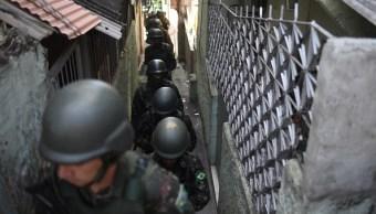 Narcotraficantes Río Janeiro esperan que se marche Ejército