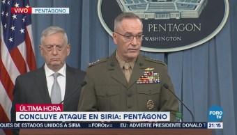 Ataque Siria Uso Armas Químicas James Mattis