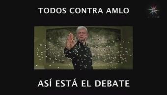 El debate en memes