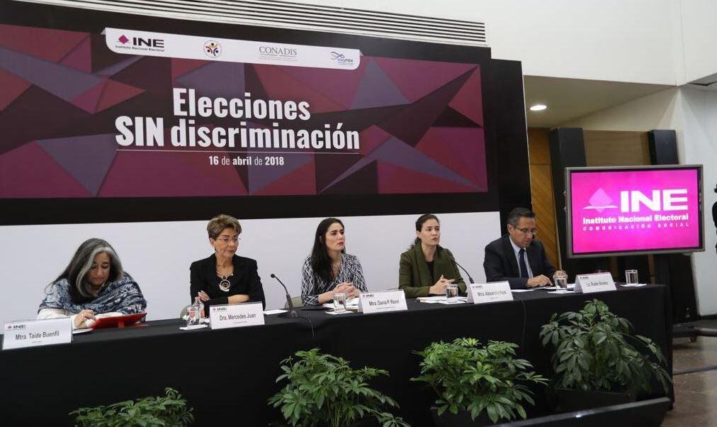 Personas con discapacidad podrán fungir como funcionaros electorales, anuncia INE