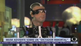 Elon Musk: Inteligencia artificial podría ser usada para crear un dictador inmortal