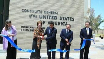 Embajadora Jacobson inaugura nuevo consulado de Nuevo Laredo, Tamaulipas