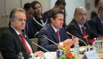 En Holanda, Peña Nieto se reúne con la Federación de Trabajadores