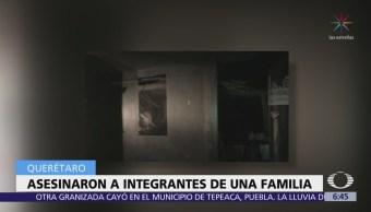 Encuentran 5 cadáveres en vivienda de San Joaquín, Querétaro