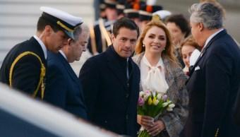 Reyes de Países Bajos reciben a EPN en ceremonia oficial
