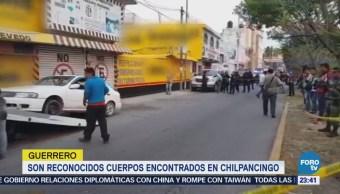 Confirman muerte de mandos policiacos de Chilapa