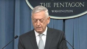 Estados Unidos envió mensaje claro Bashar Assad Mattis