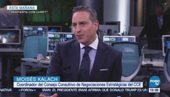 Estamos en la recta final de la renegociación del TLCAN Moisés Kalach