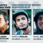 Desaparición de estudiantes de cine en Jalisco cumple 16 días