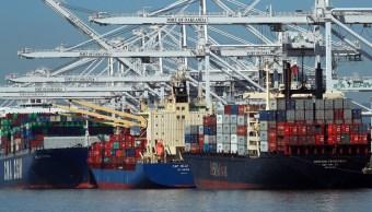 EU reporta crecimiento de déficit comercial durante febrero. (AP)